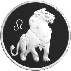 2 рубля 2002 – Лев