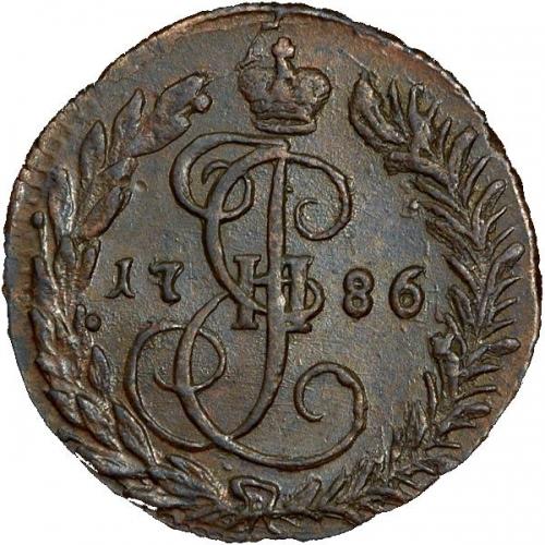 Денга 1786 – Денга 1786 года КМ