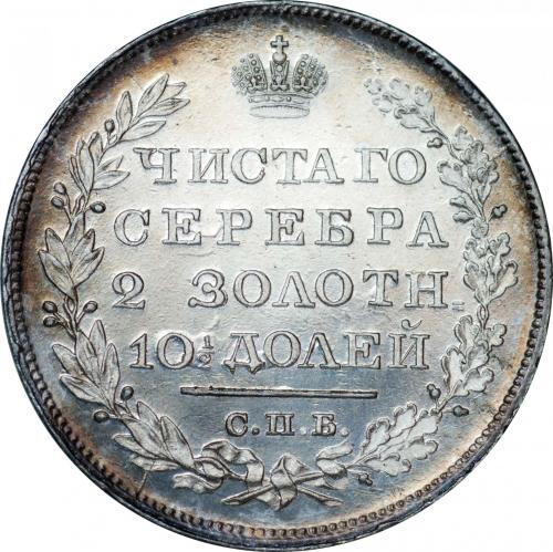Полтина 1828 – Полтина 1828 года СПБ-НГ
