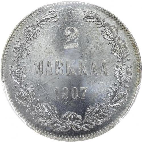 2 марки 1907 – 2 марки 1907 года L