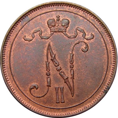 10 пенни 1908 – 10 пенни 1908 года