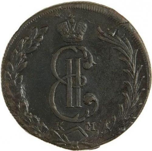 10 копеек 1773 – 10 копеек 1773 года КМ