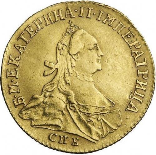 Червонец 1763 – 1 червонец 1763 года СПБ