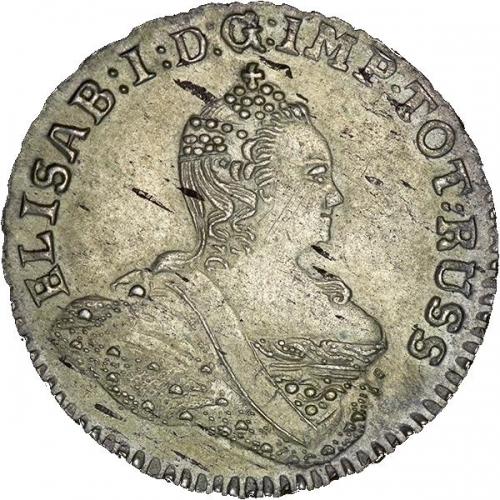 1/6 талера 1761 – 1/6 талера 1761 года