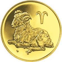 50 рублей 2004 – Овен
